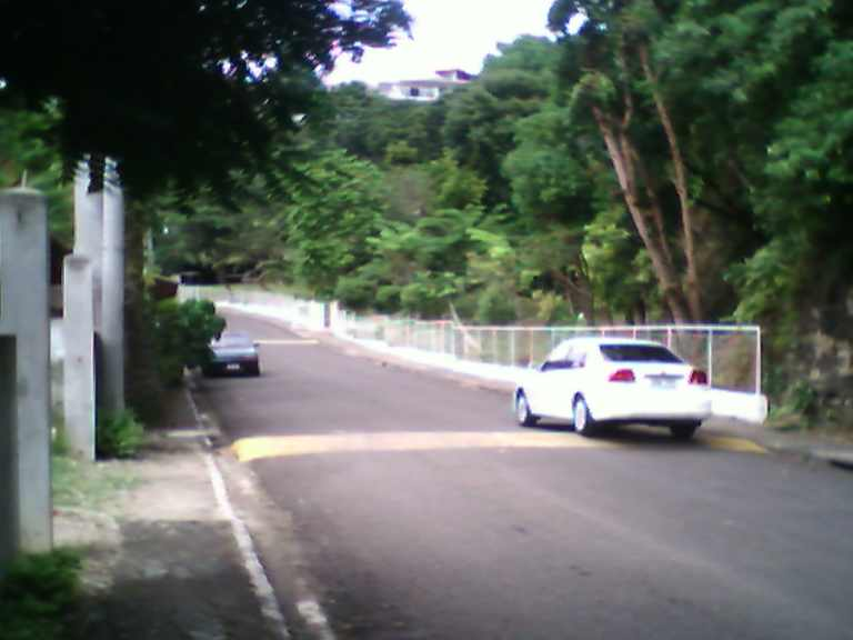 Unlike the habal-habal, taxis are permitted to go inside the subdivision. Wala lang mi'y kwarta ato na time......